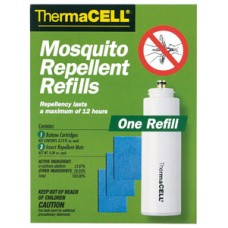 Thermacell R1 Repellent Appliance Refill Mat and Butane Mosquito, Black Fly, No-See-Ums Unscented