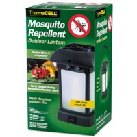 Thermacell MR9L Repellent Appliance Outdoor Lantern Mosquito, Black Fly, No-See-Ums Unscented