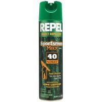 Repel 33801 Sportsmen Max Insect Repellent 40% Deet Aerosol 6.5oz