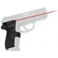 Crimson Trace LG438 Lasergrips Red Laser Sig Pro Front Activation Blk