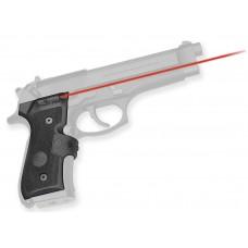 Crimson Trace LG402M Mil-Spec Lasergrips Red Beretta 92/96/M9A1 Blk