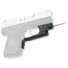 "Crimson Trace LG437 Laserguard Kahr 9/40 Poly Frame Red 633nm .5""@50ft  Blk"