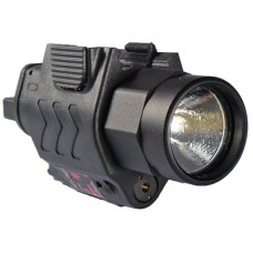 Command Arms TLL Tactical Red Laser & Flashlight 150 Lumens <5mW CR123A Black