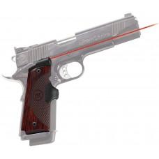 """Crimson Trace LG 901 Mstr Ser Lasergrip 1911Govt/Com 633nm .5""""@50ft Rosewd G10"""