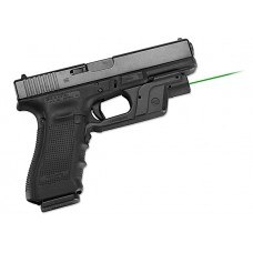 "Crimson Trace LG452 Laserguard For Glock 9/40 Green 633nm .5""@50ft 1/3N Blk Poly"