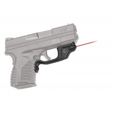 Crimson Trace LG469 Laserguard Red 633nm Springfield XD-S Blk Poly