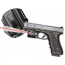Viridian C5LRPACKC1 C5LR w/Tacloc Holster for Glock 17/19/22/23 Red Laser 100Lm