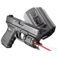 """Viridian X5LR-PACK-X1 w/Hlstr Glk 17/19/23 5mW .50""""@50ft Red Laser"""