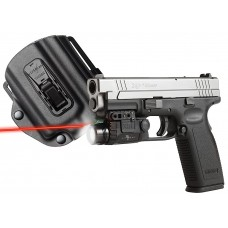 "Viridian X5LR-PACK-X3 w/Holster SPG XD/XDM Red Laser 5mW .50""@50ft"