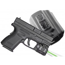 Viridian C5LPACKC3 C5L w/Tacloc Holster for Springfield XD/XDM Grn Laser 100 Lm