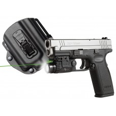 "Viridian X5LPACKX3 X5L/X3 Reactor R5 Green Laser with Holster Springfield XD/XDM 5mW .50""@50ft"