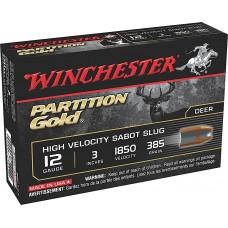 """Winchester Ammo SSP123 Supreme 12 Gauge 3"""" 385 GR Sabot Slug Shot 5 Bx/ 20 Cs"""