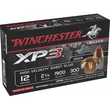 """Winchester Ammo SXP12 Supreme Elite XP3 12 Gauge 2.75"""" 300 GR Slug Shot 5 Bx/ 20 Cs"""