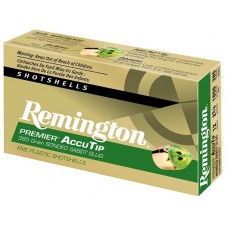 "Remington Ammunition PRA12M Premier 12 Gauge 3"" 385 GR Slug Shot 5 Bx/ 20 Cs"
