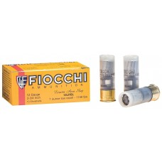 """Fiocchi 12LRSLUG Low Recoil Rifle 12 ga 2.75"""" 1 oz Slug Shot 10Box/25Case"""