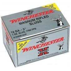 "Winchester Ammo X123RS15VP Super-X 12 Gauge 3"" 1 oz Slug Shot 15 Bx/ 10 Cs"