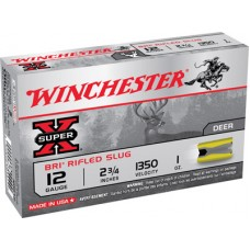 "Winchester Ammo XRS12 Super-X 12 Gauge 2.75"" 1 oz Slug Shot 5 Bx/ 50 Cs"