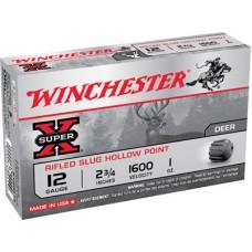 "Winchester Ammo X12RS15 Super-X 12 Gauge 2.75"" 1 oz Slug Shot 5 Bx/ 50 Cs"