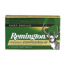"""Remington Ammunition PR12CS Premier 12 Gauge 2.75"""" 1 oz Slug Shot 5 Bx/ 20 Cs"""