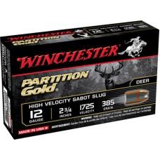 """Winchester Ammo SSP12 Supreme 12 Gauge 2.75"""" 385 GR Sabot Slug Shot 5 Bx/ 20 Cs"""