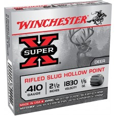 "Winchester Ammo X41RS5VP Super-X 410 Gauge 2.5"" 1/5 oz Slug Shot 15 Bx/ 10 Cs"