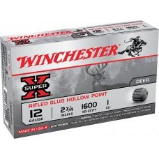 "Winchester Ammo X12RS15LF Super-X 12 Gauge 2.75"" 1 oz Slug Shot 5 Bx/ 50 Cs"