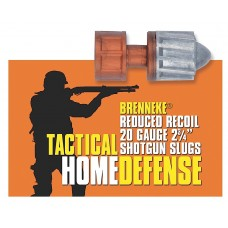 "Brenneke SL202THD Tactical 20 Gauge 2.75"" 3/4 oz Slug Shot 5 Bx/ 50 Cs"