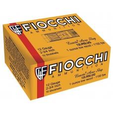 "Fiocchi 12FLESLUG Rifled Slug 12 Gauge 2.75"" 7/8 oz Slug Shot 80 Bx/ 1 Cs"