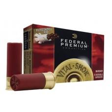 "Federal PFC15400 Vital-Shok 12 Gauge 2.75"" Buckshot 9 Pellets 00 Buck 5 Bx/ 50 Cs"