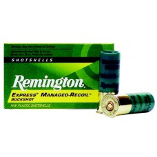 "Remington Ammunition RL12BK00 Managed Recoil 12 Gauge 2.75"" Buckshot 8 Pellets 00 Buck 5 Bx/ 20 Cs"