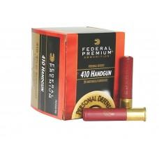 "Federal PD412JGE000 Premium Personal Defense 410 Gauge 2.5"" Buckshot 4 Pellets 000 Buck 20 Bx/ 10 Cs"