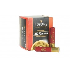 "Federal PD412JGE2 Premium Personal Defense 410 Gauge 2.5"" Buckshot 7/16 oz 4 20 Bx/ 10 Cs"