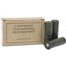 """Winchester Ammo Q1544 Military Grade 12 Gauge 2.75"""" Buckshot 9 Pellets 00 Buck 5 Bx/ 50 Cs"""