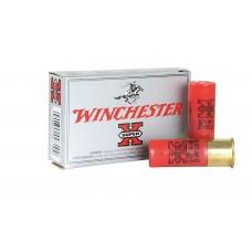 "Winchester Ammo XB124 Super-X 12 Gauge 2.75"" Copper-Plated Lead 27 Pellets 4 Buck 5 Bx/ 50 Cs"
