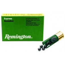"Rem 12B1 12ga 1 Buck 5Box/50Cs 2.75"" 16 Pellets Buckshot Express"