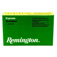 "Remington Ammunition 12SB00 Buckshot 12 Gauge 2.75"" Buckshot 12 Pellets 00 Buck 5 Bx/ 50 Cs"