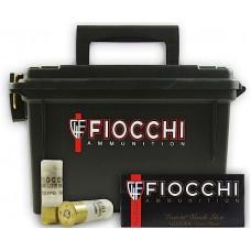 "Fiocchi 12FLE00B 12ga LE 00BK 80rd Plano Box 2.75"" 9 Pellets Nickel Plated"