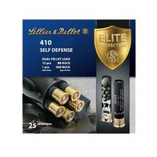 "Sellier & Bellot SB410SDB Shotgun 410 Ga 3"" Lead 15 Pellets 000 Buck 25 Bx/ 20 Cs"